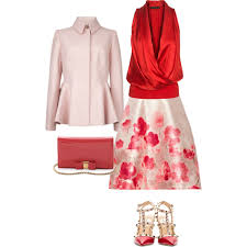 dressy blouses for weddings blouse and skirt set wedding guest 3 polyvore