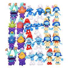 smurf figures ebay