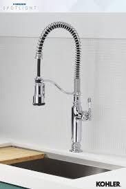 kohler pull down kitchen faucet kohler tournant pull down kitchen faucet kitchen faucets