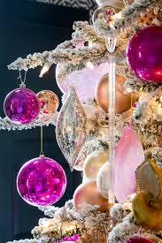 pretty christmas trees traditional home
