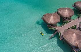 take a peek inside mexico u0027s first overwater bungalows