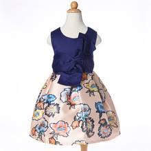 online get cheap kids navy blue dress aliexpress com alibaba group