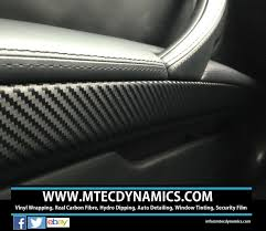 bmw e90 e91 3d 3m black carbon fibre trim set m tec dynamics