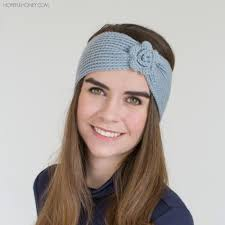 headband flower crochet flower headband allfreecrochet
