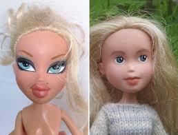 australian mom turns bratz dolls regular girls removing