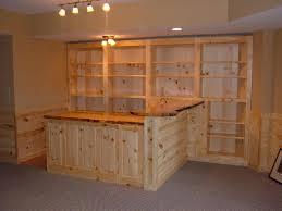 Simple Basement Bar Ideas Decor Nice Recessed Lighting Plus Basement Bar Ideas Also Wooden