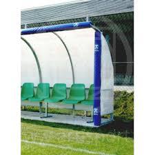 panchina di calcio protezione imbottita per panchina allenatori