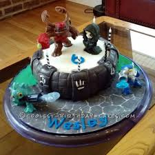 coolest homemade skylanders cakes