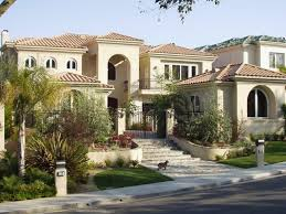 tuscan home exterior nonsensical lakeway texas front elevation by