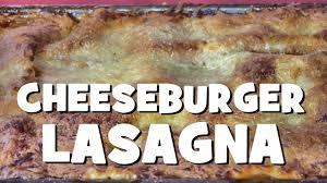 herve cuisine lasagne cheeseburger lasagna recipe erecipes