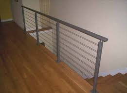 Cable Banister Hercules Fence Maryland Architectural Cable Rails U0026 Railings