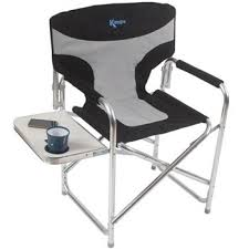 Folding Directors Chair With Side Table Kampa The Gaffer Directors Chair With Side Table Campingworld Co Uk