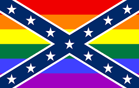 Rebel Flag Image File Confederate Lgbt Flag Svg Wikimedia Commons
