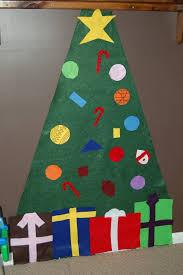 getting crafty u2026 felt christmas tree for kids