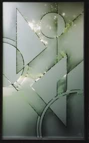 glass design designer glass abstract geometric design on the front door glass