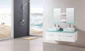 Bathroom Tables Round Bronze Colored Washbasin Metal Bar Towel