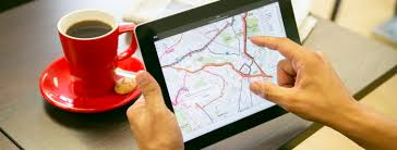 paper maps digital maps vs paper maps which is best for spatial content