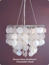 diy shell chandelier diy capiz shell chandelier