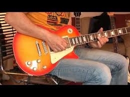 epiphone les paul tribute plus electric guitar faded cherry burst
