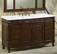 Wood Bathroom Vanity by Bathroom Black Wooden Bathroom Vanity With Granite Top And Round