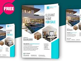 free real estate flyer templates free psd premium real estate flyer template by free psd