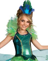 Peacock Halloween Costume Women Peacock Child Costume Small 4 6 Walmart