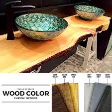 slab sink amazon com live edge wood slab handmade