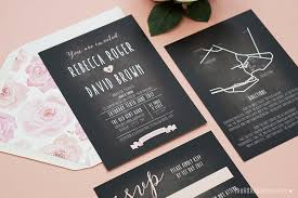 chalkboard wedding invitations chalkboard wedding invitations the touches