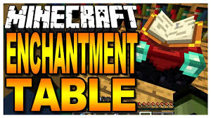 Minecraft Wiki Enchanting Table Minecraft The Enchantment Table Youtube