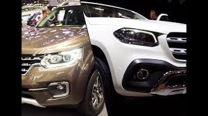 renault alaskan vs nissan navara 2018 mercedes benz x class vs 2017 renault alaskan youtube