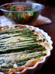 Spinach Quiche With Cottage Cheese by Simple Crustless Spring Time Asparagus Quiche With Cottage Cheese