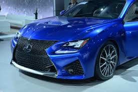 lexus rcf blue lexus rc f looks amazing in real life