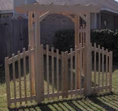 decorative garden arbor