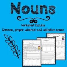 nouns bundle common proper abstract collective pronouns