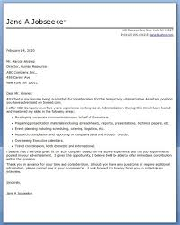 local government executive cover letter