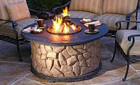 Firepit Tables Small Propane Bowl Pits Outdoor Pit Cing