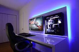 gaming setup desk post a pic of your setup page 568 setup gamer pinterest