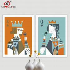 King Home Decor Online Get Cheap King Queen Wall Decor Aliexpress Com Alibaba Group