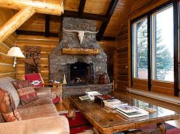 classic comfortable log home with stunning homeaway jackson