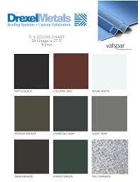 color cards drexel metals