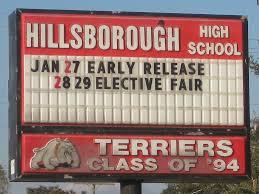 hillsborough high school yearbook pictures file hillsborough high school sign jpg wikimedia commons