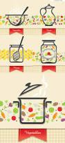 4 designer fresh restaurant menu design vector material
