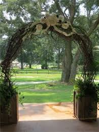 wedding arch grapevine wedding party the arbour could we do something this like