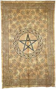 Pentacle Rug Altar Supplies U2013 Conjurings Of A Witch