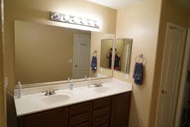 stick on frames for bathroom mirrors diy bathroom mirror frame for under 10 rise and renovate