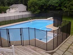 mesh pool fence parts backyard fence ideas