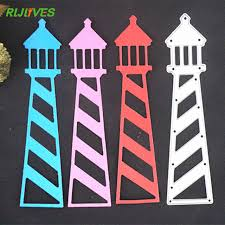 Cutting Dies For Card Making - aliexpress com buy rljlives lighthouse metal cutting dies