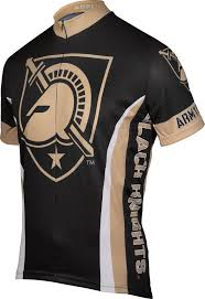 black cycling jacket west point military academy army cycling jersey