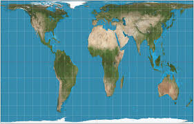 Can You Show Me A Map Of The United States Mercator Projection V Gall Peters Projection Business Insider