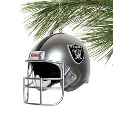 oakland raiders footbells ornament collection raiders